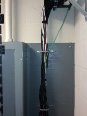 wall to cable guide